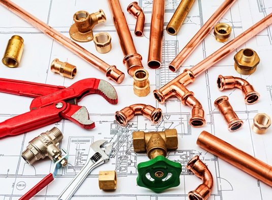 Plumbing Plan and Tools