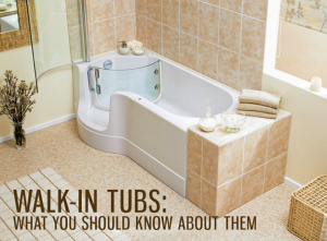 walk-in tub in new remodel - Featured image: walk in tubs: what you should know about them