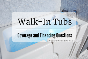 Walk-in tubs coverage and financing