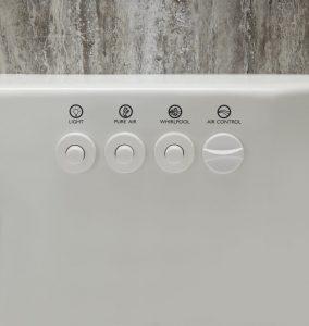 Whirlpool Jacuzzi Walk-In Tub Controls